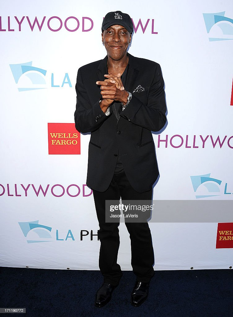 Arsenio Hall attends the Hollywood Bowl opening night celebration at The Hollywood Bowl on June 22, 2013 in Los Angeles, California.