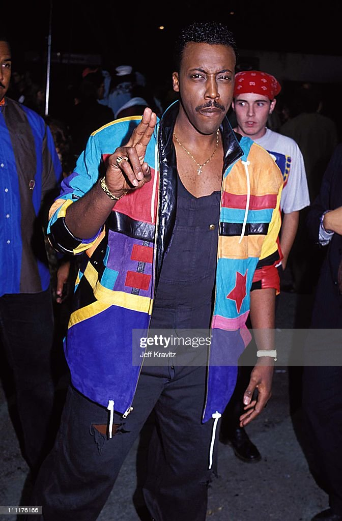 <a gi-track='captionPersonalityLinkClicked' href=/galleries/search?phrase=Arsenio+Hall&family=editorial&specificpeople=211441 ng-click='$event.stopPropagation()'>Arsenio Hall</a> during 1991 MTV Video Music Awards in Los Angeles, California, United States.
