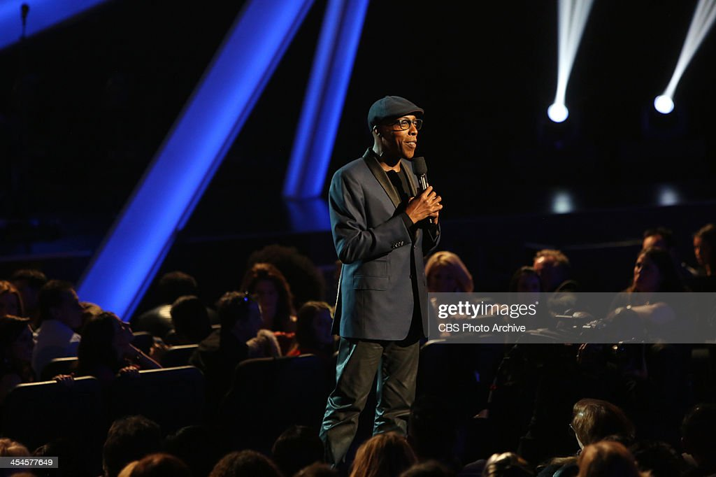 Arsenio Hall during the THE GRAMMY NOMINATIONS CONCERT LIVE! COUNTDOWN TO MUSIC'S BIGGEST NIGHT® broadcast Friday, Dec. 6 (10:00 11:00 PM, live ET/delayed PT) on the CBS Television Network.