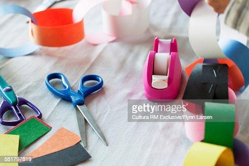 Art and craft equipment, close up