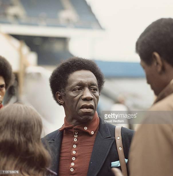 Art Blakey US jazz drummer circa 1970