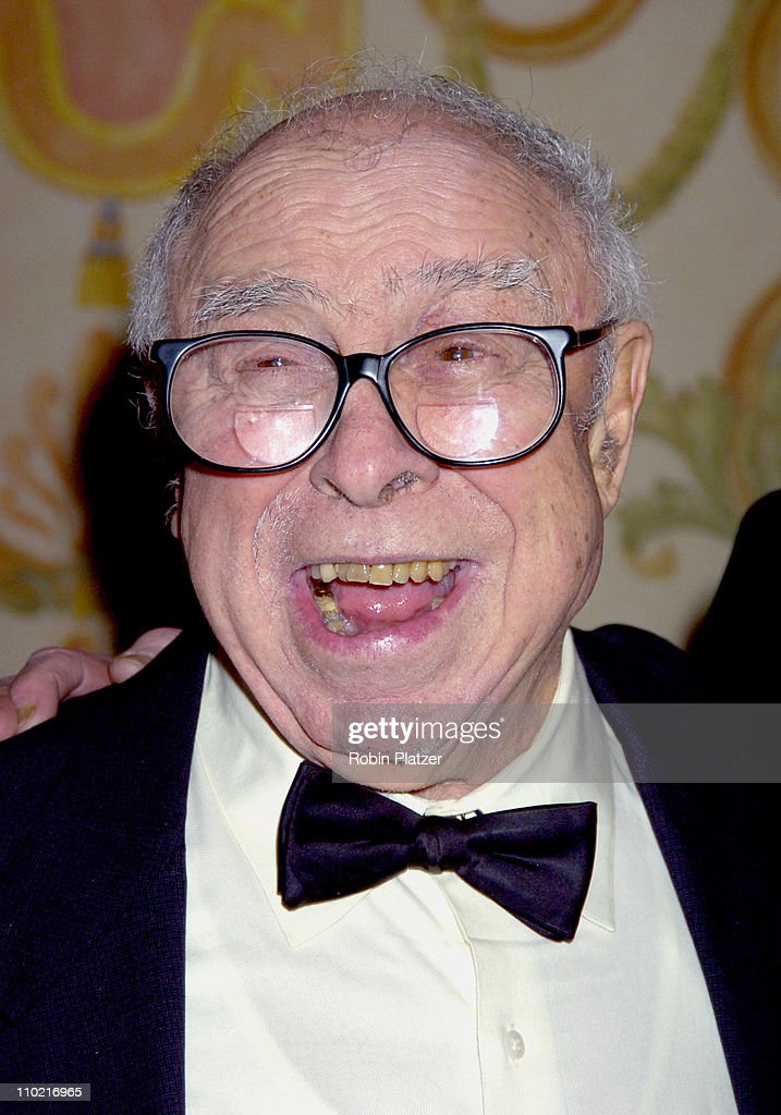 <a gi-track='captionPersonalityLinkClicked' href=/galleries/search?phrase=Art+Buchwald&family=editorial&specificpeople=220909 ng-click='$event.stopPropagation()'>Art Buchwald</a> during 57th Annual Writers Guild Awards - New York Arrivals at The Pierre Hotel in New York City, New York, United States.