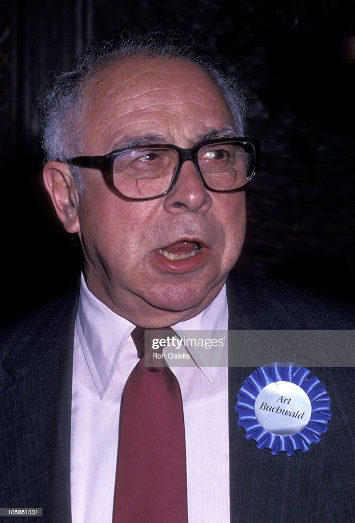 <a gi-track='captionPersonalityLinkClicked' href=/galleries/search?phrase=Art+Buchwald&family=editorial&specificpeople=220909 ng-click='$event.stopPropagation()'>Art Buchwald</a> during Putnam Berkley Publicists Gala for Their Authors - May 31, 1991 at Four Seasons Hotel in New York City, New York, United States.