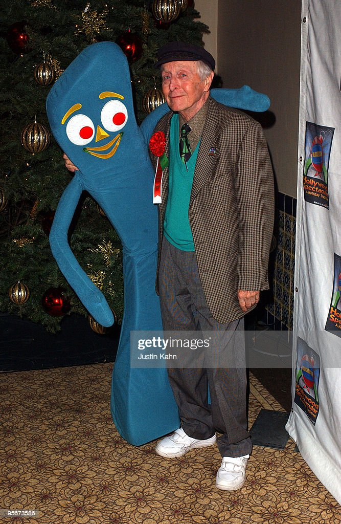 Art Clokey with Gumby