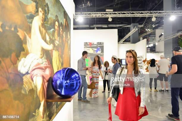 Art Collector Jara Ghadri attends Art Basel Miami BeachVIP Preview at Miami Beach Convention Centre on December 6 2017 in Miami Florida