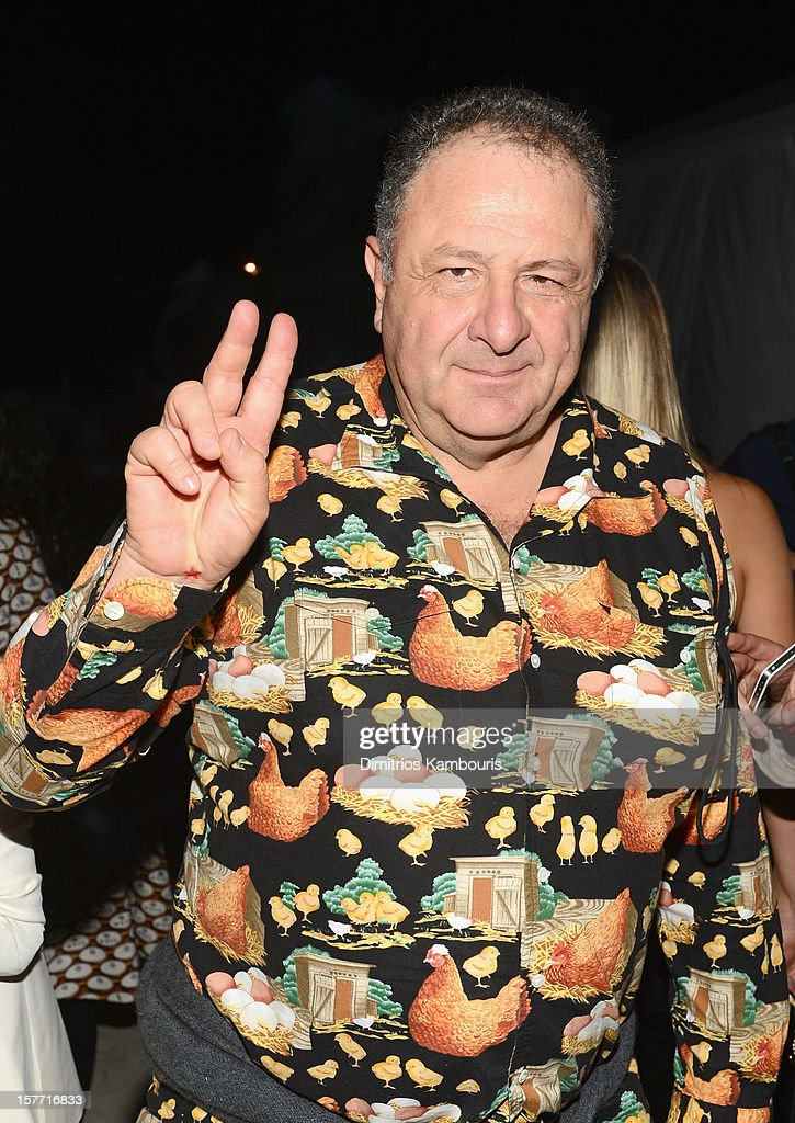 Art Collector Jean Pigozzi attends a Beachside Barbecue presented by CHANEL hosted by Art.sy Founder Carter Cleveland, Larry Gagosian, Wendi Murdoch, Peter Thiel and Dasha Zhukova at Soho Beach House on December 5, 2012 in Miami Beach, Florida.