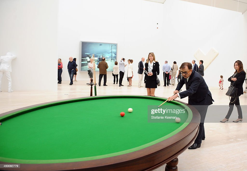 Art Collector <a gi-track='captionPersonalityLinkClicked' href=/galleries/search?phrase=Michael+Chow&family=editorial&specificpeople=627802 ng-click='$event.stopPropagation()'>Michael Chow</a> attends a private preview at Museo Jumex on November 16, 2013 in Mexico City, Mexico.