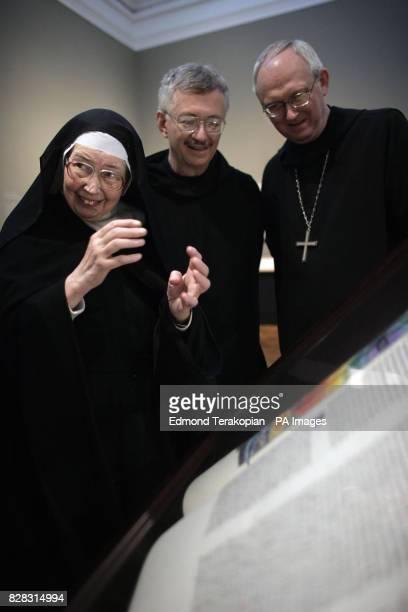 Sister Wendy Beckett Brother Dietrich Reinhart and Abbot John Klassen who are are principals from Saint John's Art commentator Sister Wendy Beckett...