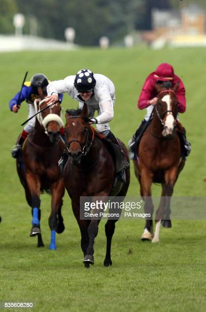 Art Connoisseur ridden by Tom Queally wins The Golden Jubilee Stakes during day five of The Royal Ascot at Ascot Racecourse Berkshire
