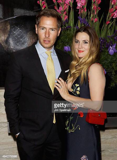 Art Consultant Will Kopelman and actress Drew Barrymore attend Montblanc The Cinema Society host a screening after party of Roadside Attractions...