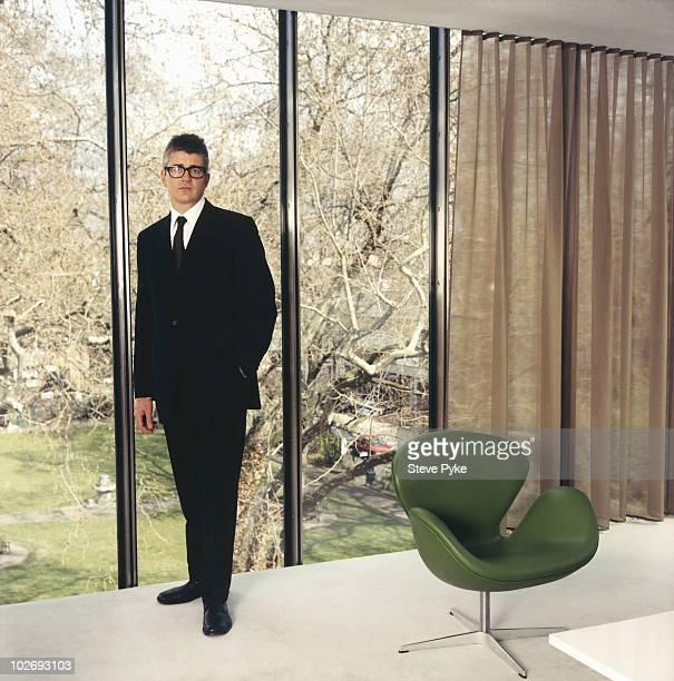 Art Dealer Jay Jopling poses for a portrait shoot in London UK