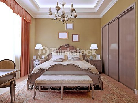 chambre de style art d co avec ses n ons photo thinkstock. Black Bedroom Furniture Sets. Home Design Ideas