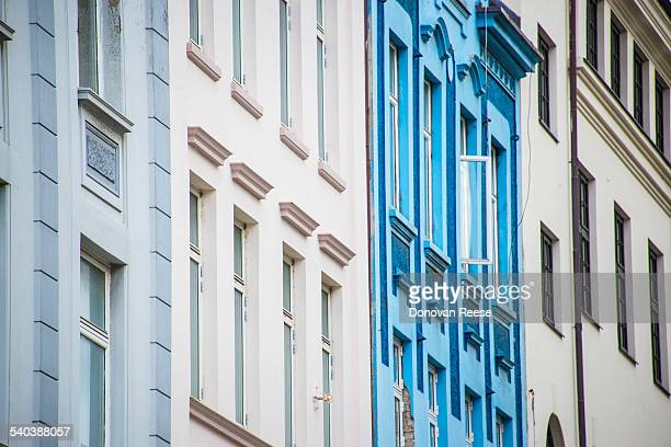 Art deco building in Alesund,Norway