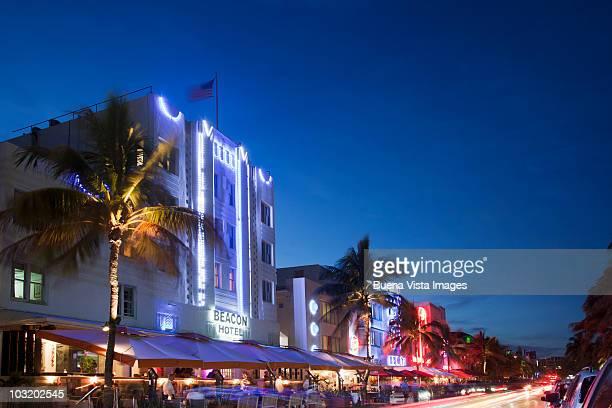 Art Deco building in Ocean Drive