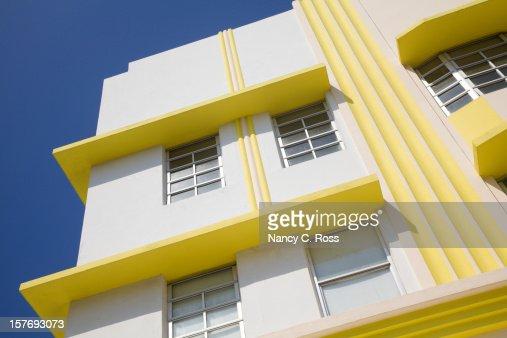 Art Deco Building, South Beach, Miami Florida, Architecture