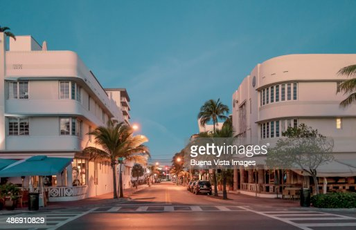 Art Deco buildings in South Beach.