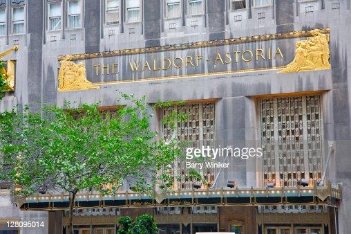 Waldorf astoria hotel photos et images de collection for Design hotel waldorf