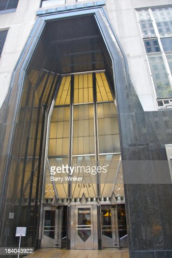 art deco entrance to landmark office building stock photo art deco office building