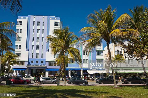 Art Deco Hotels, South Beach Miami, Florida, USA