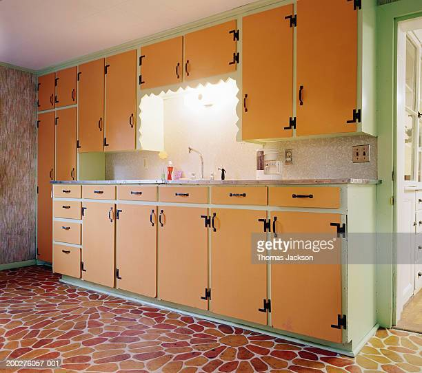 Art Deco style kitchen cabinetry