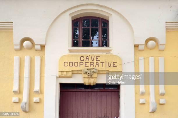 Art Deco Wine Cooperative Brue-Auriac Provence