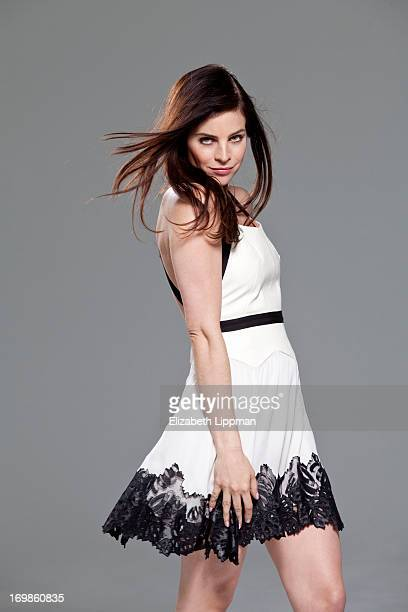 Art director and model Julia Restoin Roitfeld is photographed for Alexa on April 8 2013 in New York City PUBLISHED IMAGE