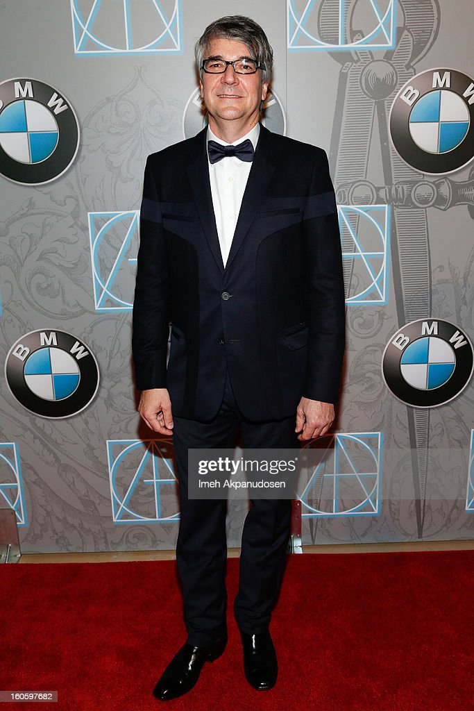 Art Director Carlos Menendez attends the 17th Annual Art Directors Guild Awards For Excellence In Production Design at The Beverly Hilton Hotel on February 2, 2013 in Beverly Hills, California.