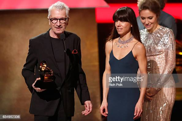 Art director Gerard Lo Monaco accepts the Best Boxed Or Special Limited Edition Package award for 'Edith Piaf' onstage at the Premiere Ceremony...