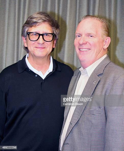 Art director Rick Carter and guest attend Art Directors Guild Presents A Conversation With Star Wars VII Production Designer Rick Carter at Art...