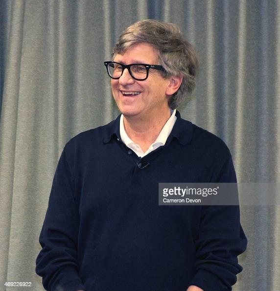Art director Rick Carter speaks at Art Directors Guild Presents A Conversation With Star Wars VII Production Designer Rick Carter at Art Directors...