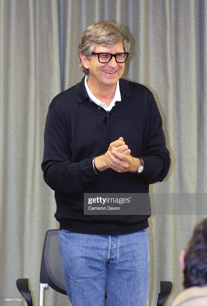 Art director Rick Carter speaks at Art Directors Guild Presents A Conversation With Star Wars VII Production Designer Rick Carter at Art Directors...
