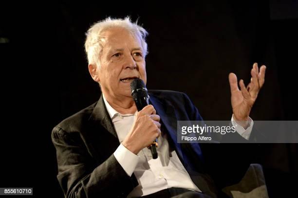 Art Foundation President Fulvio Gianaria art foundation president during the OGR press conference on September 29 2017 in Turin Italy