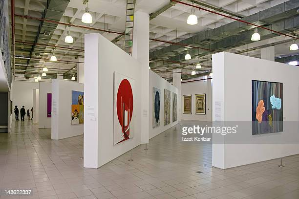 Art Gallery in Istanbul.