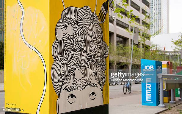 Art in traffic boxes Toronto starts painting its traffic boxes with local artists work The program helps promote the local culture and embellishes...