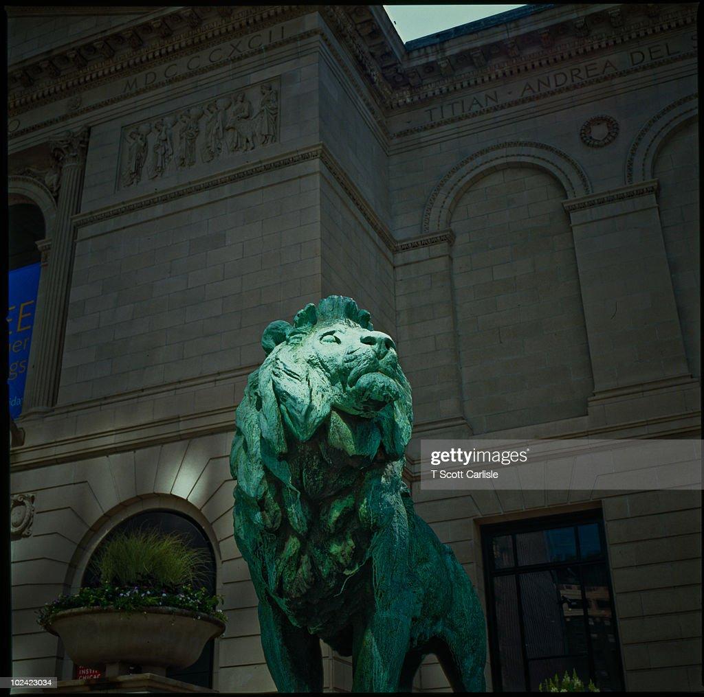 Art Institute - Bronze Lion
