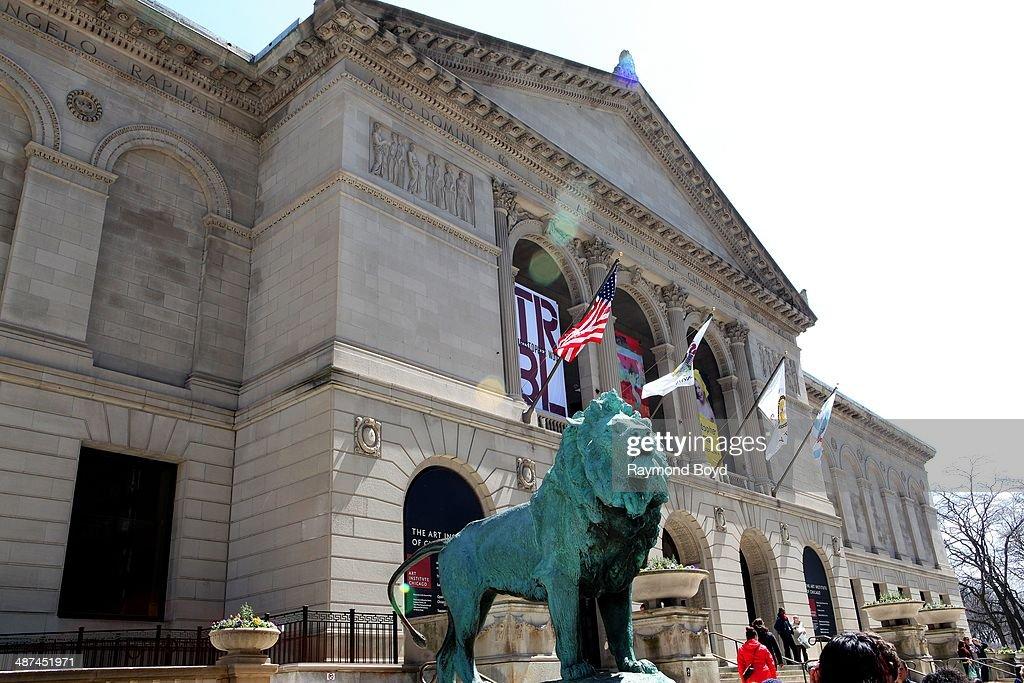 Art Institute of Chicago on April 26 2014 in Chicago Illinois