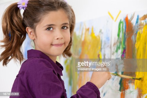 Kunst-Unterricht : Stock-Foto