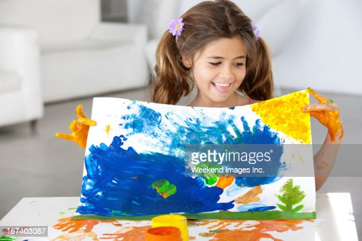 Art lesson : Stockfoto
