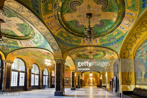 Art nouveau architecture interior targu mures romania for Archi interieur rotterdam