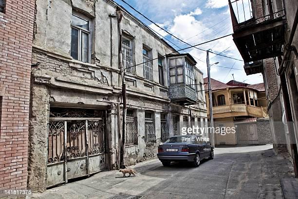 Art Nouveau architecture Tbilisi Georgia