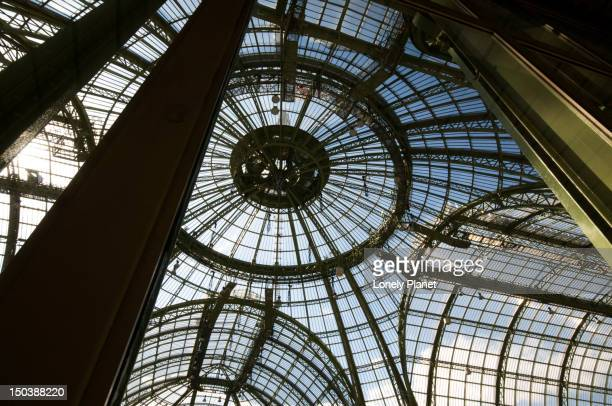 Art Nouveau glass roof in Grand Palais.