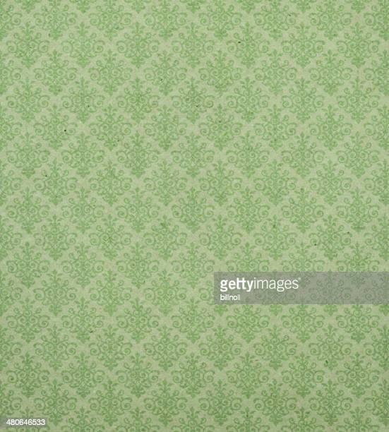 Art Nouveau wallpaper pattern