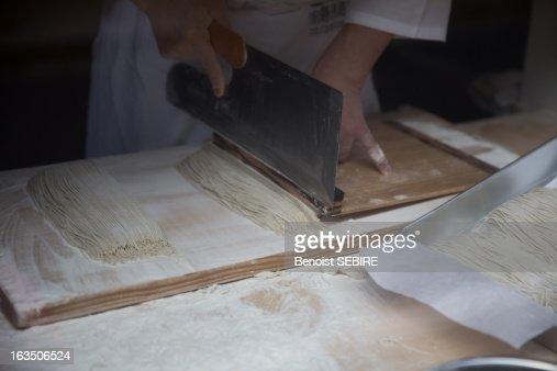 Art of making Soba
