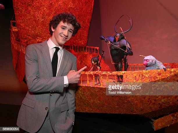 Art Parkinson attends a preparty for the premiere of Focus Features' 'Kubo And The Two Strings' at Universal Studios on August 14 2016 in Universal...