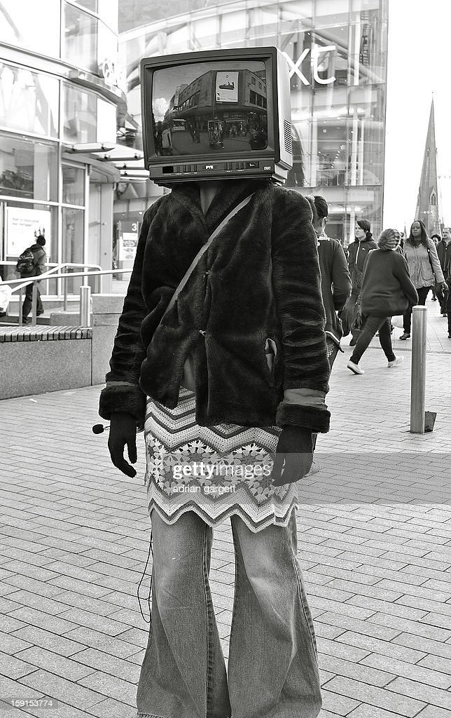 CONTENT] Art Student. Protester. Anti-Television. Dada. Situationism. Bread and Circuses.Opium of the Masses. City Centre. Birmingham.