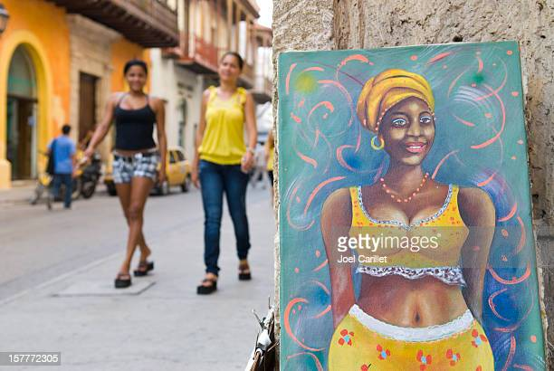 Women of Cartagena, Colombia