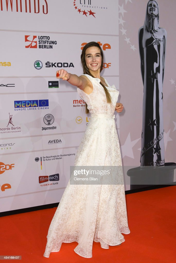 <a gi-track='captionPersonalityLinkClicked' href=/galleries/search?phrase=Arta+Dobroshi&family=editorial&specificpeople=5349596 ng-click='$event.stopPropagation()'>Arta Dobroshi</a> attends the European Film Awards 2013 on December 7, 2013 in Berlin, Germany.