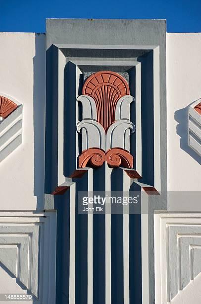 Art-Deco building detail.