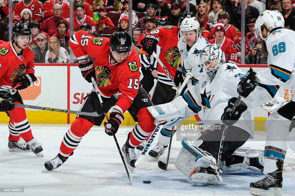 San Jose Sharks v Chicago Blackhawks