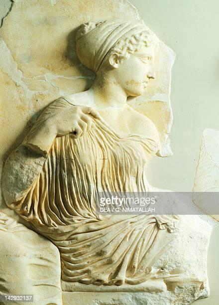 Artemis relief of the Parthenon frieze The Acropolis of Athens Greece Greek civilization 5th Century BC Athens Moussío